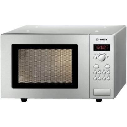 Bosch HMT75M451B Solo Microwave – Brushed Steel