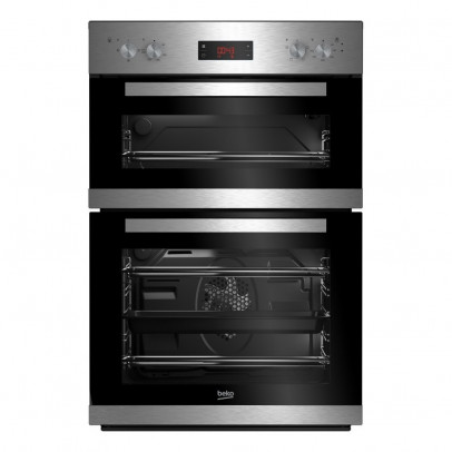 Beko CDF22309X Built-In Double Oven – Stainless Steel