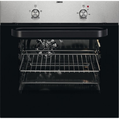 Zanussi ZZB30401XK Built-In Single Oven – Stainless Steel