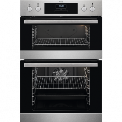 AEG DCB331010M Built-In Double Oven – Stainless Steel