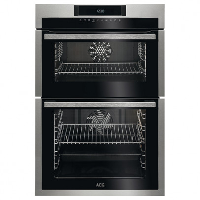 AEG DCE731110M Built-In Double Oven – Stainless Steel