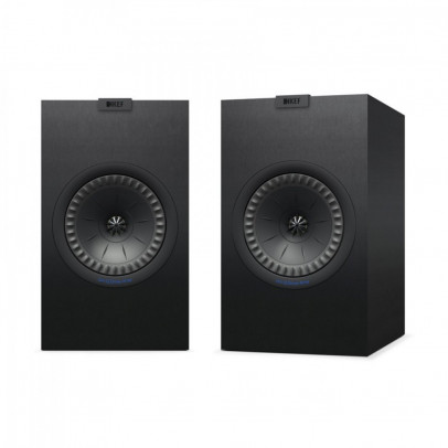 Kef Q350-SB Bookshelf Speakers (Pair) – Satin Black