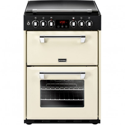 Stoves Richmond 600DF-C 60cm Dual Fuel Mini Range – Cream