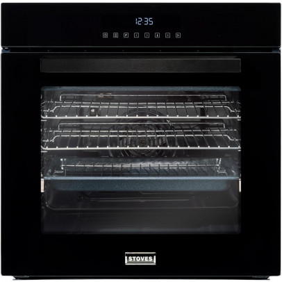 Stoves SEB602TCC-BLK Built-In Single Oven – Black