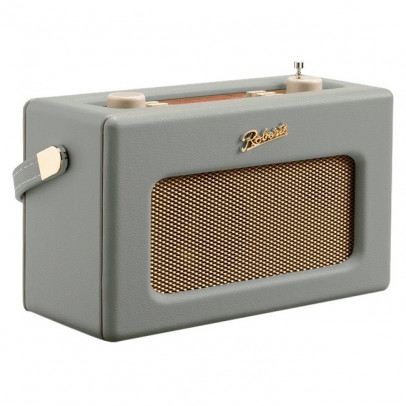 Roberts Revival RD70DG Portable Retro DAB/DAB+/FM Radio with Bluetooth – Dove Grey