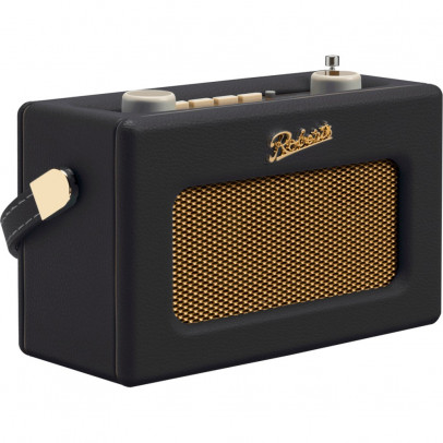 Roberts Revival UNO-BLK Portable Retro DAB/DAB+/FM Radio – Black