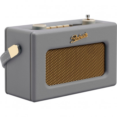 Roberts Revival UNO-DG Portable Retro DAB/DAB+/FM Radio – Dove Grey