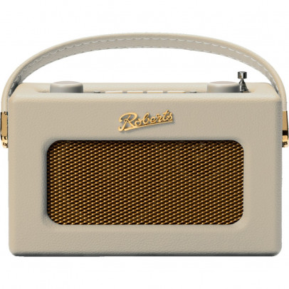 Roberts Revival UNO-PC Portable Retro DAB/DAB+/FM Radio – Pastel Cream