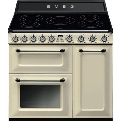 Smeg TR93IP 90cm 'Victoria' Induction Range Cooker – Cream