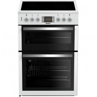 Blomberg HKN64W 60cm Double Oven Electric Cooker – White