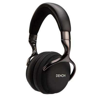 Denon AH-D1200-B Over-Ear Closed Back Headphones – Black