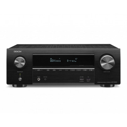 Denon AVR-X1500H 7.2 Channel 4K UHD AV Receiver with HEOS – Black