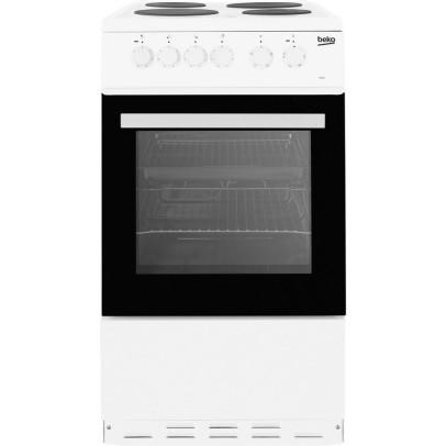 Beko ESP50W 50cm Electric Cooker – White