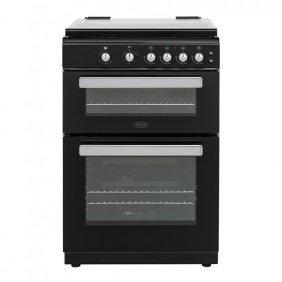 Belling FSG608DC-B 60cm Double Oven Gas Cooker – Black