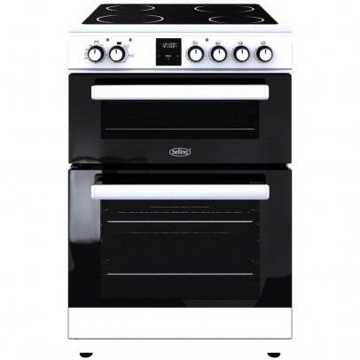 Belling FSE608DPC 60cm Double Oven Electric Cooker – White