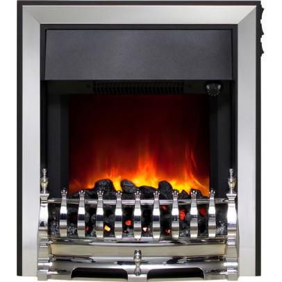Be Modern Fazer-C Electric Inset Fire – Chrome