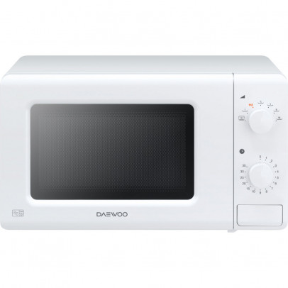 Daewoo KOR6M17R Solo Microwave – White