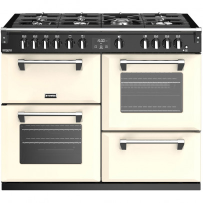 Stoves Richmond Deluxe S1100G-CC 110cm Gas Range Cooker – Classic Cream
