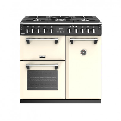Stoves Richmond Deluxe S900DF-CC 90cm Dual Fuel Range Cooker – Classic Cream
