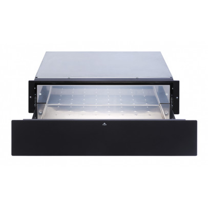 GDHA UWD14-B 14cm Warming Drawer – Black Glass