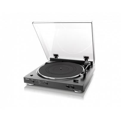 Denon DP-200USB-B Fully Automatic Turntable with Phono Stage & USB MP3 Encoder – Black