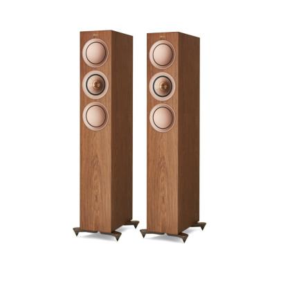 Kef R5-W Floorstanding Speakers – Walnut