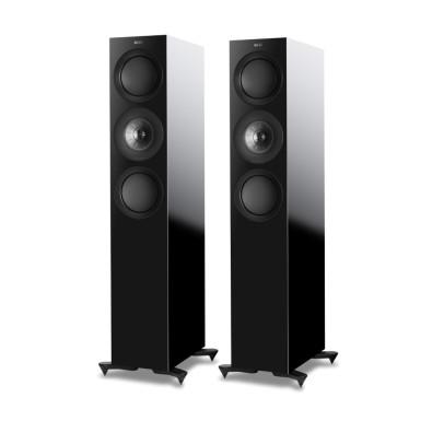Kef R7-BG Floorstanding Speakers – Black Gloss