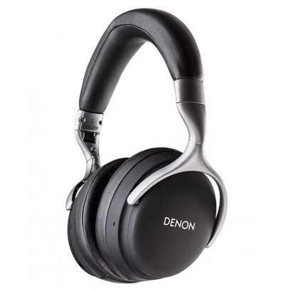 Denon AH-GC25W-B Premium Wireless Over-Ear Closed Back Headphones – Black