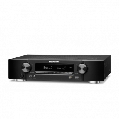 Marantz NR1710 Slimline 7.2 Channel 4K UHD AV Receiver with HEOS – Black