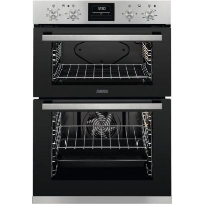Zanussi ZOA35660XK Built-In Double Oven – Stainless Steel