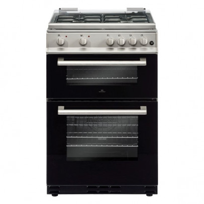 New World DF600MD-S 60cm Dual Fuel Cooker – Silver