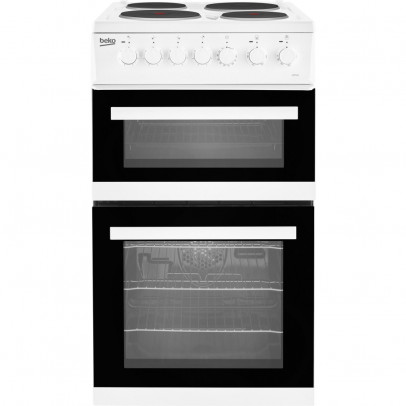 Beko EDP503W 50cm Double Oven Electric Cooker – White