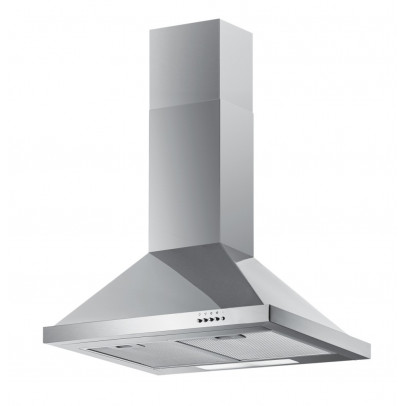 Iberna FW60.2SS 60cm Chimney Hood – Stainless Steel
