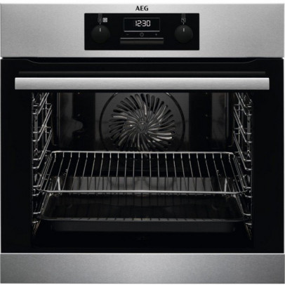AEG BES25101LM Built-In Single SteamBake Oven – Stainless Steel