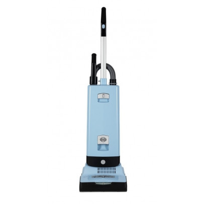 Sebo 91546GB X7 ePower Bagged Upright Vacuum – Pastel Blue