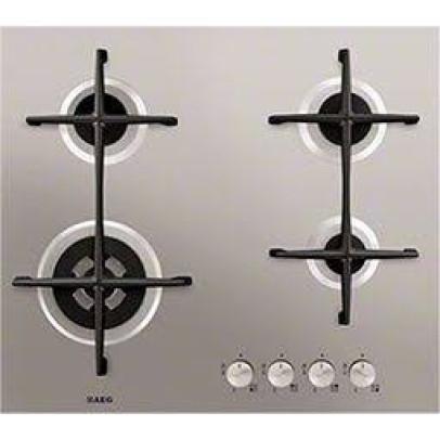 AEG HG654421UM 60cm Gas Hob – Flat Metal