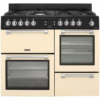 Leisure CK110F232C 110cm Cookmaster Dual Fuel Range Cooker – Cream