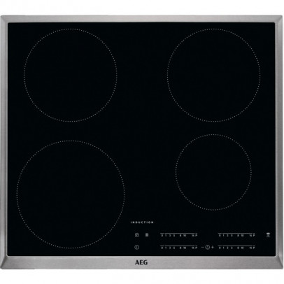 AEG IKB64301XB 60cm Induction Hob – Stainless Steel Frame