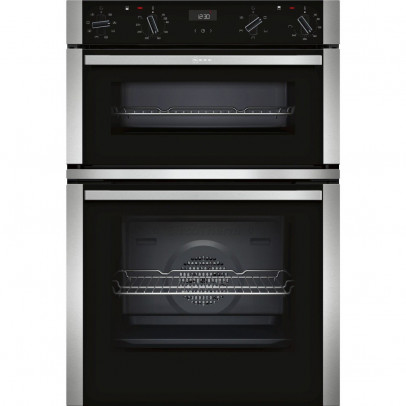 Neff U1ACE2HN0B Built-In Double Oven – Stainless Steel