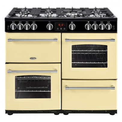 Belling Farmhouse 100G 100cm Gas Range Cooker – Cream
