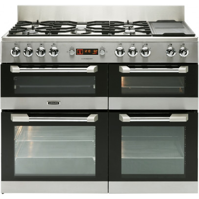 Leisure CS110F722X 110cm Cuisinemaster Dual Fuel Range Cooker – Stainless Steel