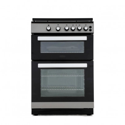 Belling FSG608DC-S 60cm Double Oven Gas Cooker – Silver