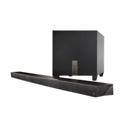 Definitive Technology Studio Slim 3.1 Channel Ultra-Slim Soundbar & Wireless Subwoofer