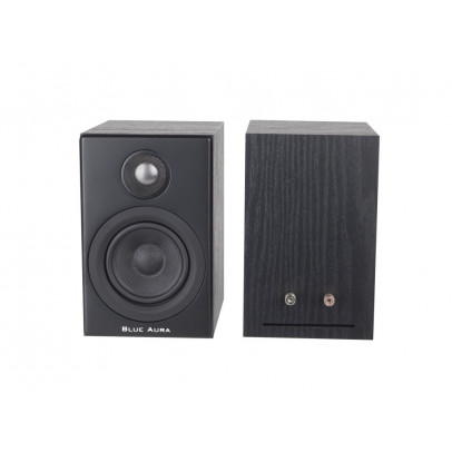 Blue Aura PS30 Compact Bookshelf Speakers – Black