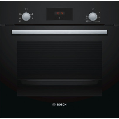 Bosch HHF113BA0B Built-In Single Oven – Black