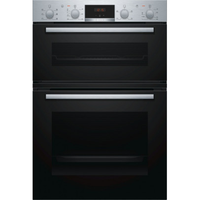 Bosch MBS133BR0B Built-In Double Oven – Stainless Steel