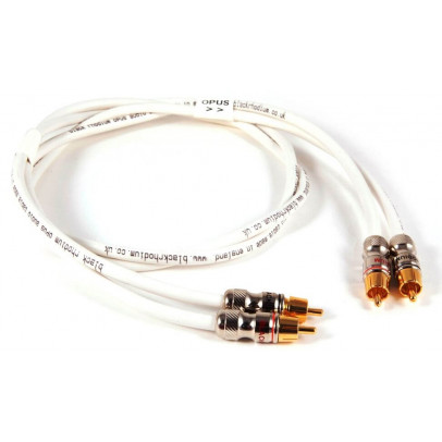 Black Rhodium Opus RCA Stereo Interconnects – 0.5m