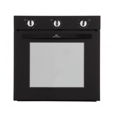 New World NW602F-B Built-In Single Oven – Black