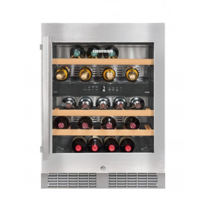 Liebherr UWTes1672 60cm Integrated Undercounter Vinidor Wine Cooler – Stainless Steel