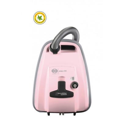 Sebo 93662GB K1 ePower Bagged Cylinder Vacuum – Pastel Pink